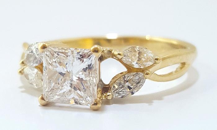 טבעת אירוסין Foliani