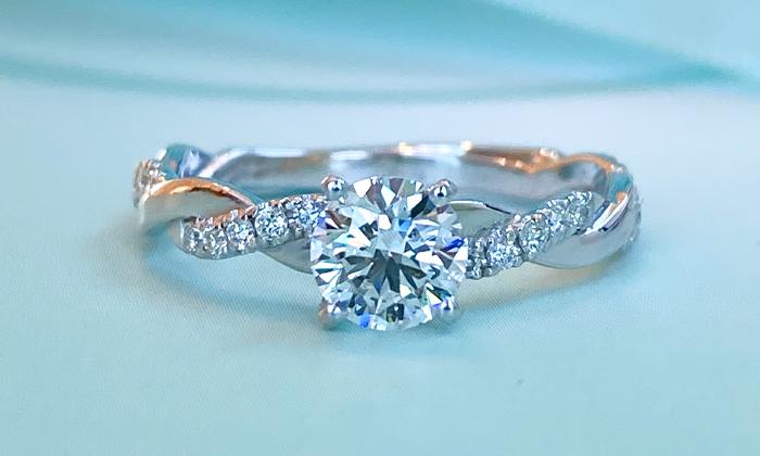טבעת אירוסין ADRA
