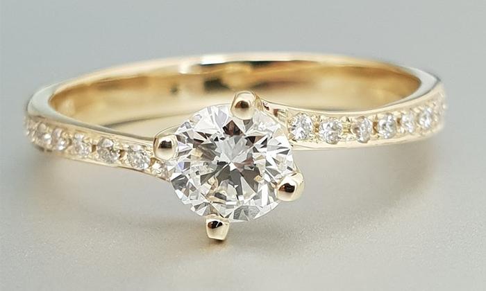 טבעת אירוסין MOIRA