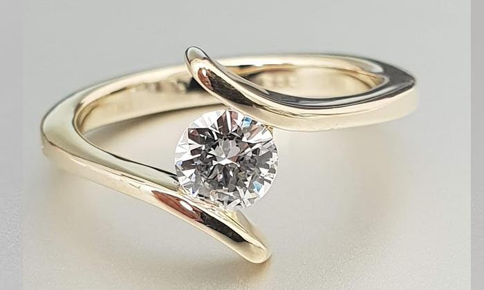 טבעת אירוסין BAR