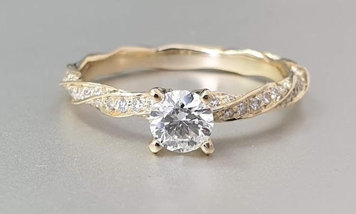 טבעת אירוסין Mari