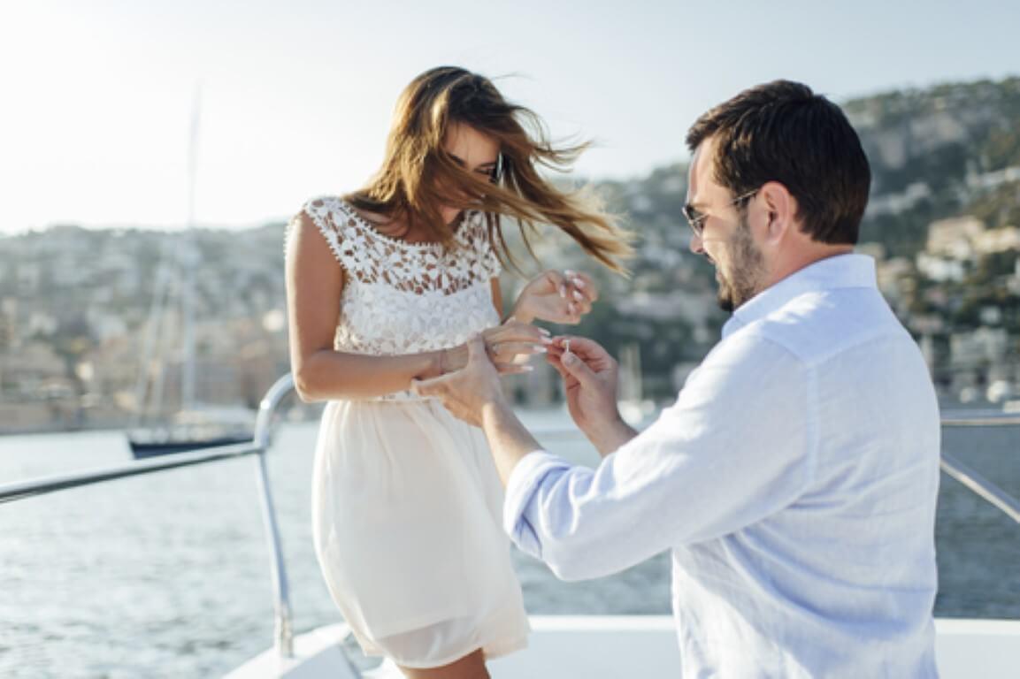 הצעת נישואין מקורית ובלתי נשכחת