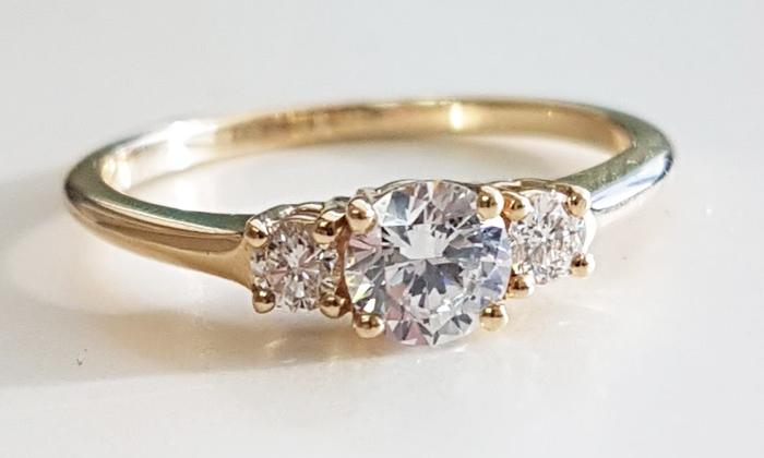 טבעת אירוסין Francesca