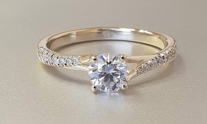 טבעת אירוסין Alyssa