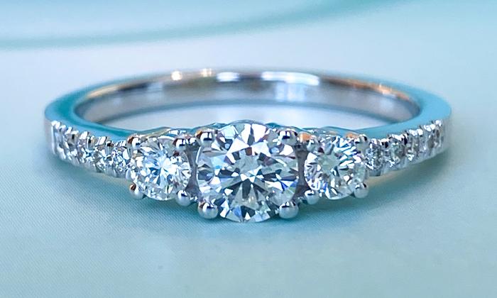 טבעת אירוסין Silas