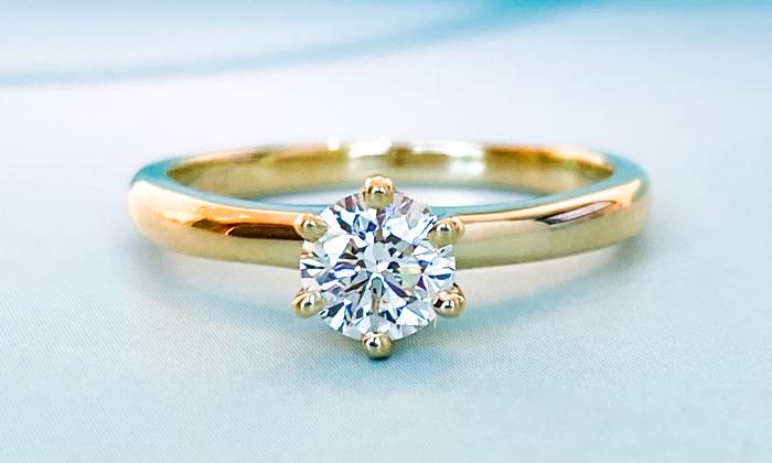 טבעת אירוסין Tiffan