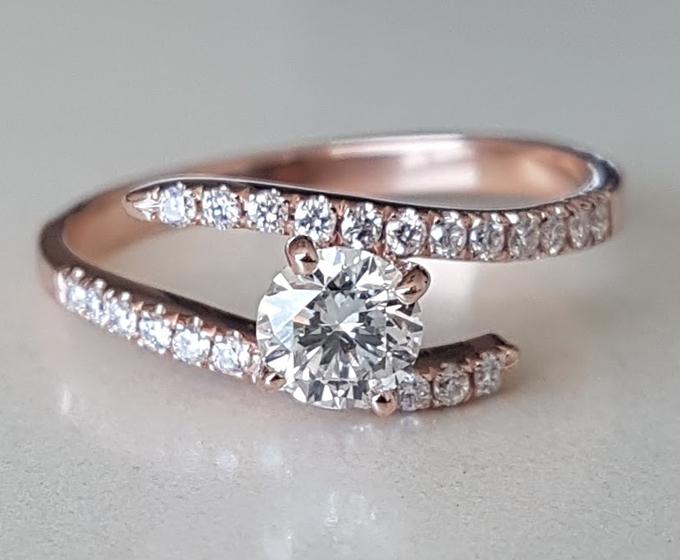 טבעת אירוסין Spica