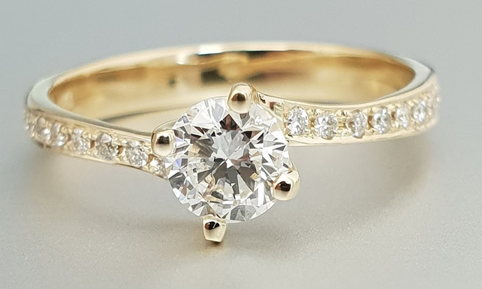 טבעת אירוסין Verna