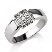 טבעת יהלום Eden