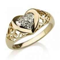 טבעת יהלום Bologna
