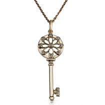 שרשרת יהלום Key Charm