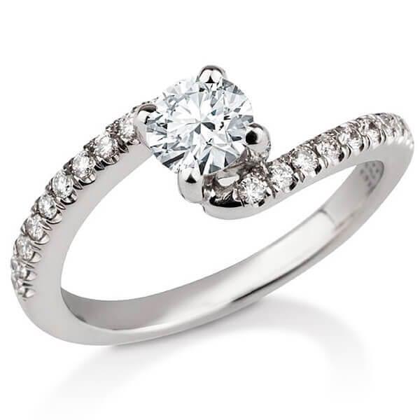 טבעת אירוסין Honfleur