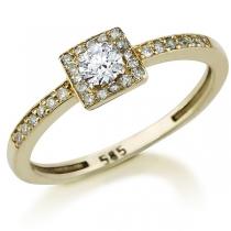 טבעת יהלום Lorraine