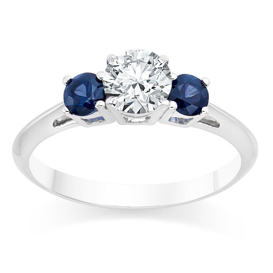 טבעת אירוסין Deep Blue