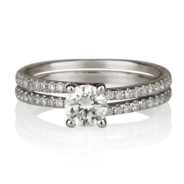 טבעת אירוסין Agamit