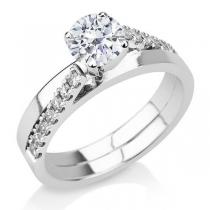טבעת אירוסין Aloes