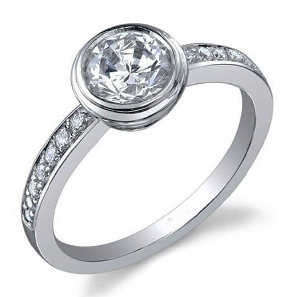 טבעת אירוסין Navel