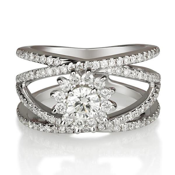 טבעת יהלום Sirius