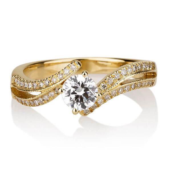 טבעת אירוסין HEDVA