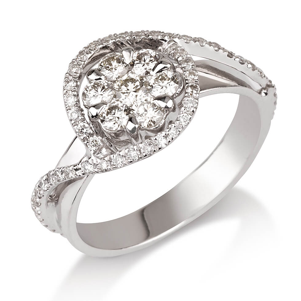 טבעת יהלום Katherine