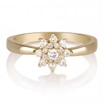 טבעת יהלום Erving
