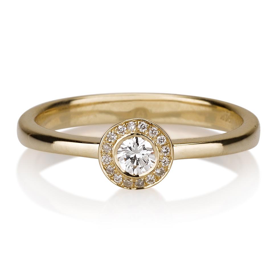 טבעת יהלום Maceo
