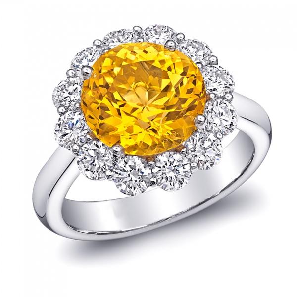טבעת אבן חן Bella