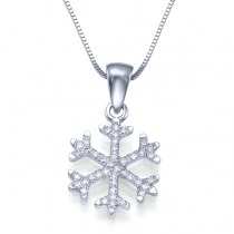 שרשרת יהלום snow
