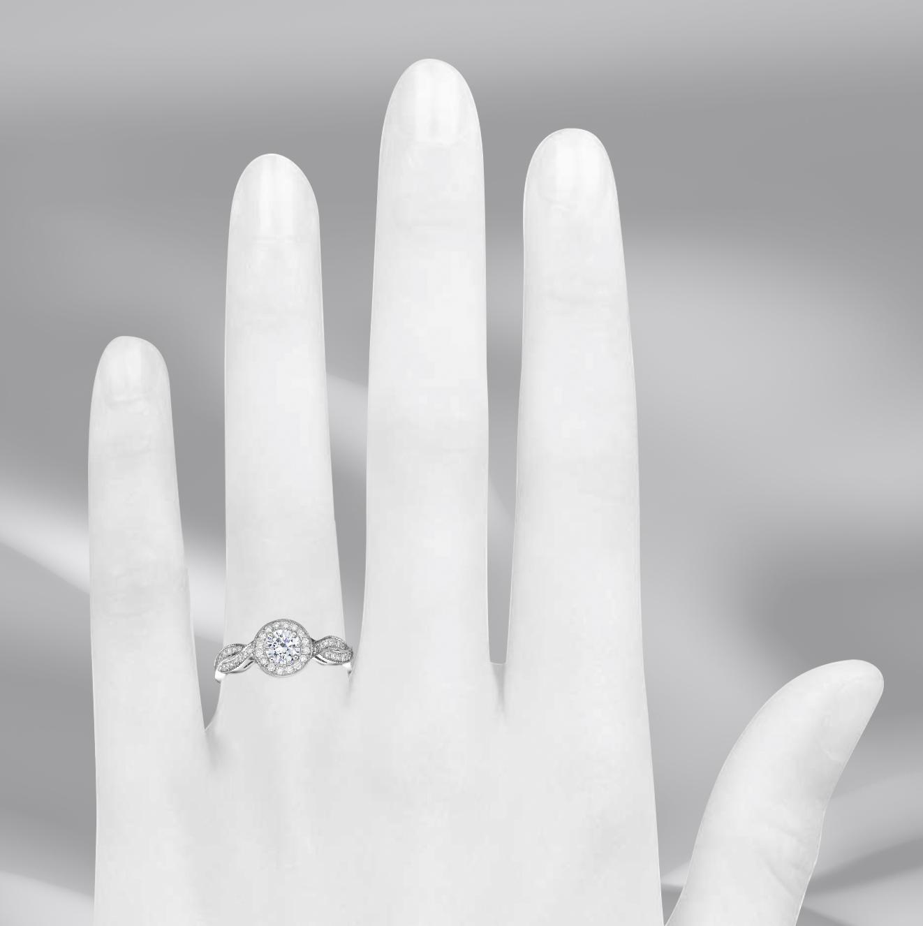 טבעת אירוסין Valentina