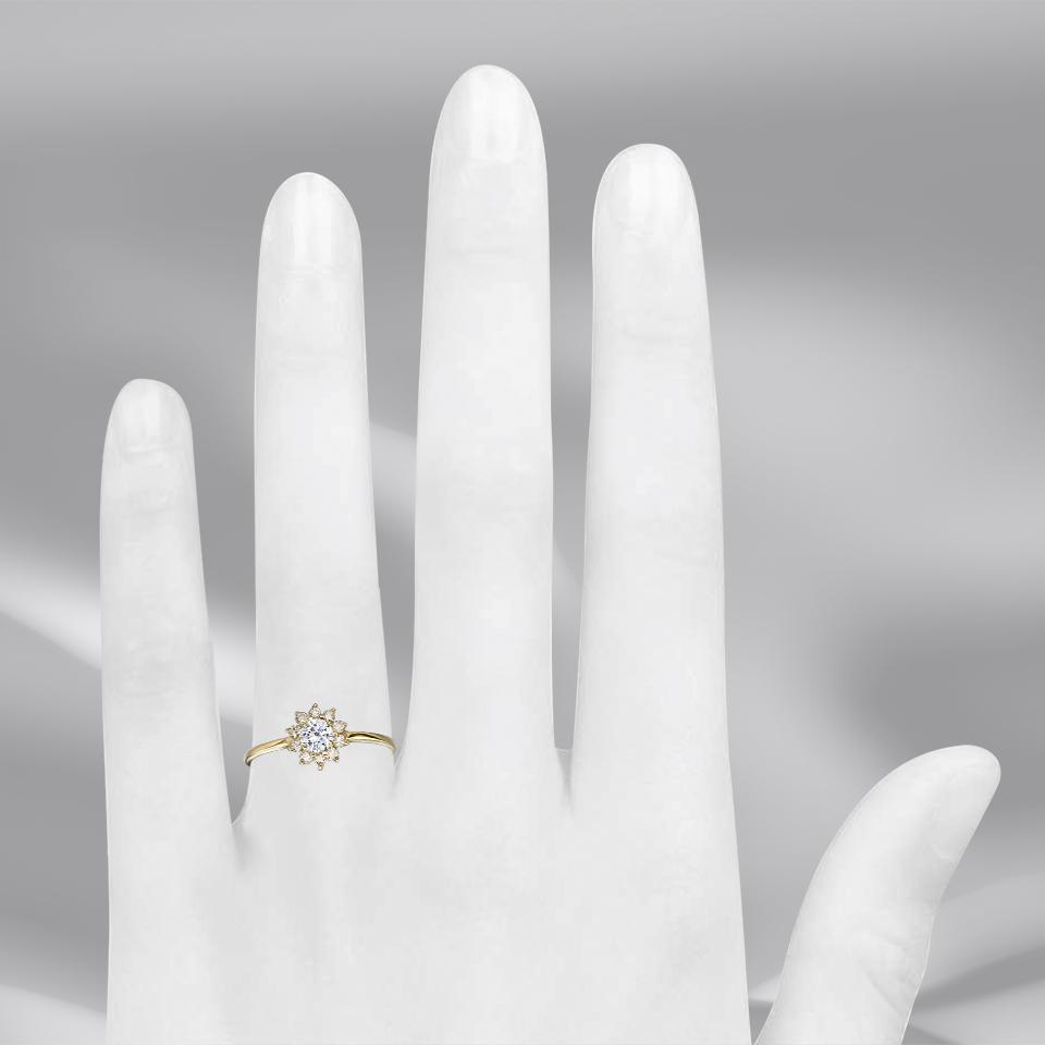 טבעת אירוסין Fabiola