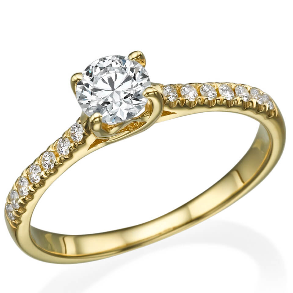 טבעת אירוסין Alexa
