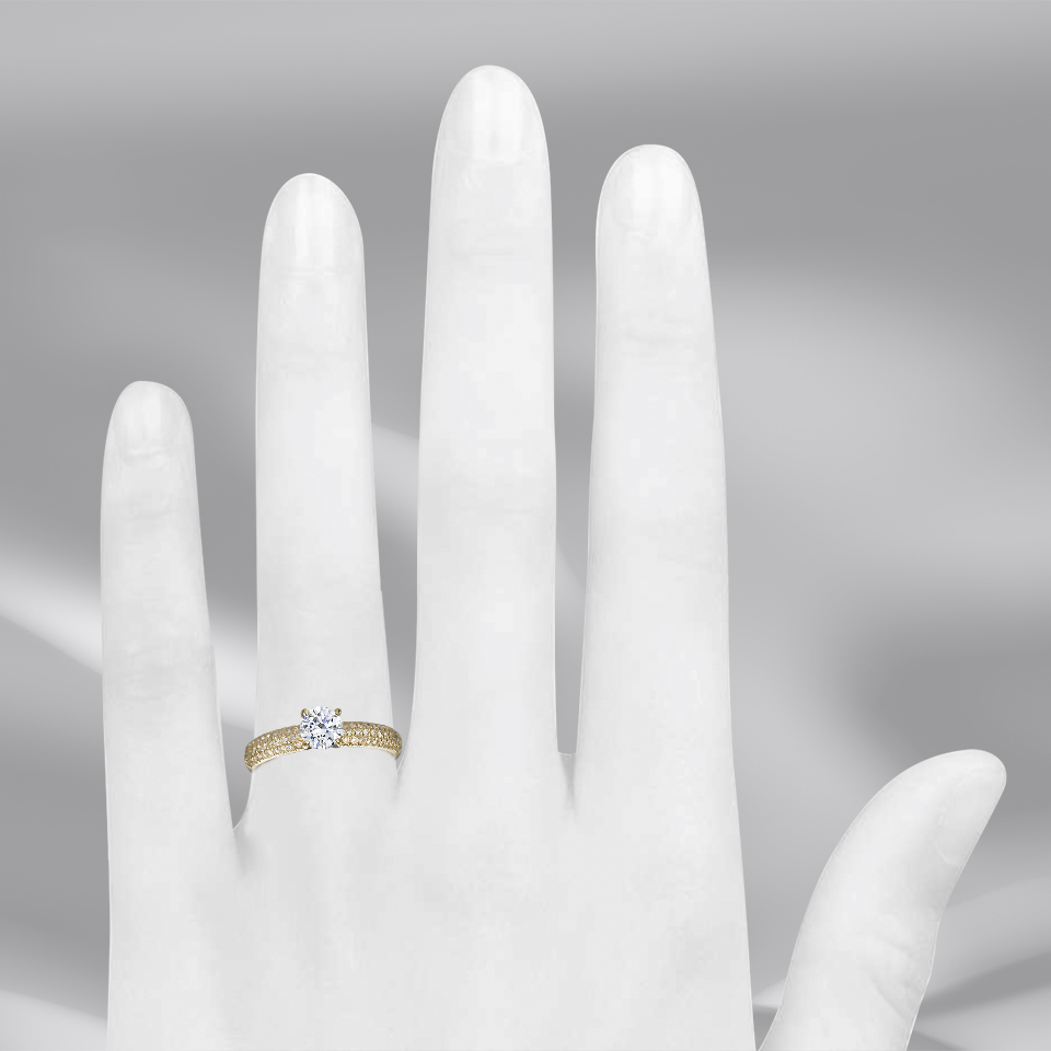 טבעת אירוסין Larue