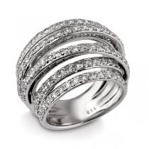 טבעת יהלום AHAVA