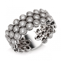 טבעת יהלום milano
