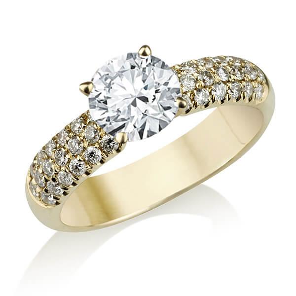 טבעת אירוסין AMADA