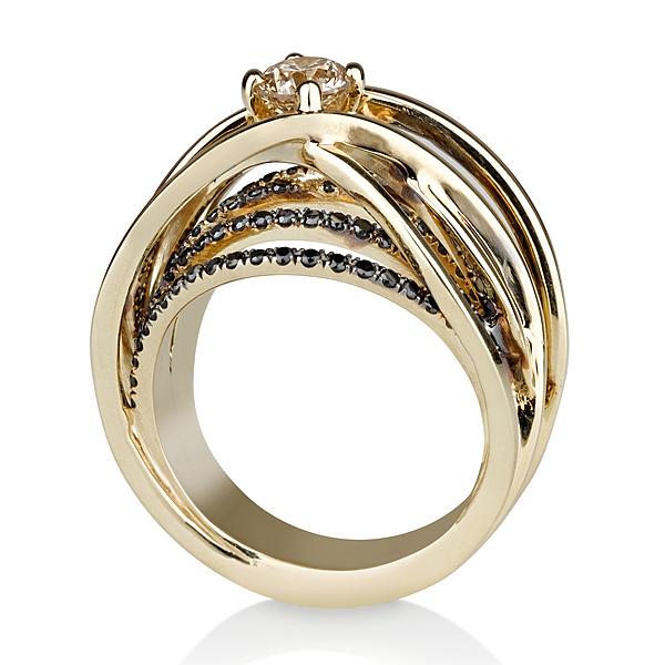 טבעת יהלום MIYEL